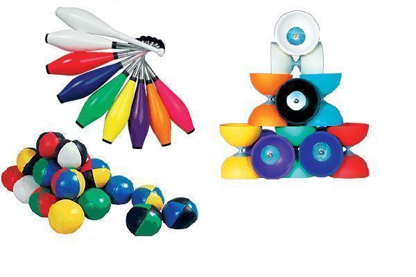 Jeux de magie et de jonglerie